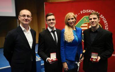 Két sportolónk is kitüntetést vehetett át!