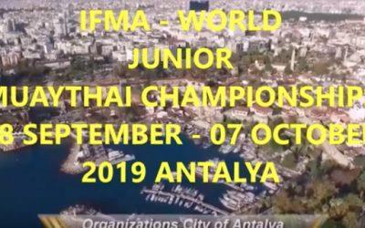 Íme a 2019-es IFMA junior muaythai világbajnokság beharangozó kisfilmje
